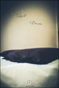 Ξενοδοχείο Ακταίον - κρεβάτι