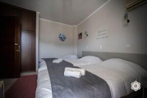 Ξενοδοχείο Ακταίον - κρεβάτια