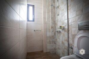 Ξενοδοχείο Ακταίον - ντουζιέρα