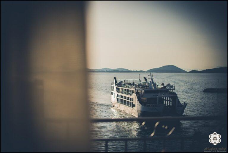 Ξενοδοχείο Ακταίον - θέα από το παράθυρο